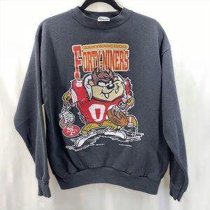 vintage tasmanian devil San Francisco 49ers